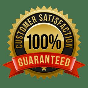 100% Satisfaction Guaranteed-Seal